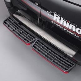 Twin Step Black Plastic Tread Replacement Kit - SK100