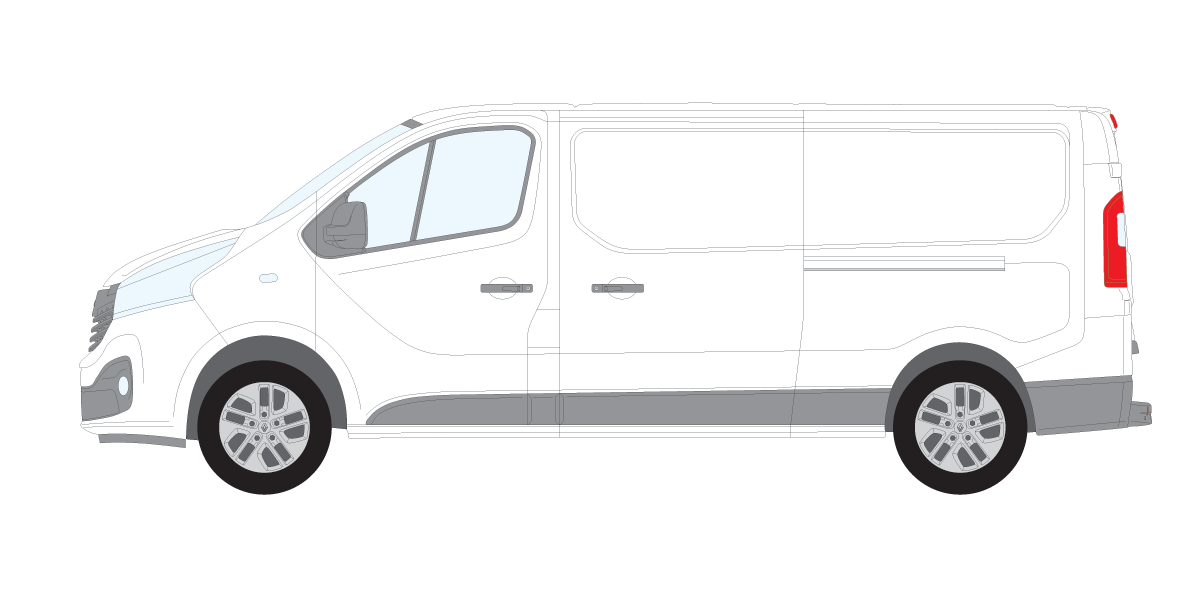Renault Trafic 2014 On - Rhino Commercial