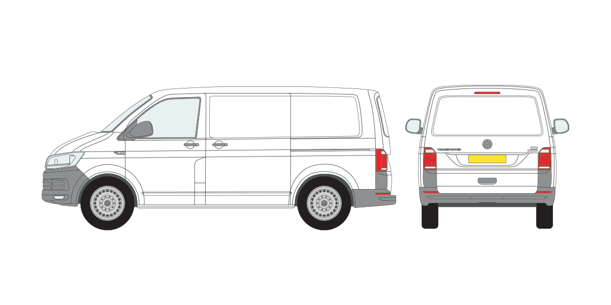 volkswagen transporter t6 2015 onward